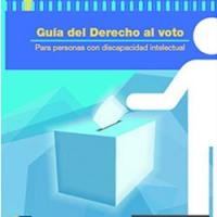 Presentan la 'guía del derecho al voto para personas con discapacidad intelectual' en lectura fácil