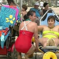 Falta de accesibilidad en las playas españolas para personas con movilidad reducida y discapacidad visual
