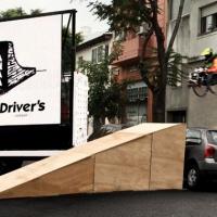 Campaña para sensibilizar sobre el respeto de las rampas en la ciudad para los discapacitados