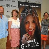 Interfresa entrega 100.000 euros para la lucha contra el cáncer de hígado