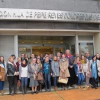 Acto de entrega de las ayudas para la realización de proyectos sociales en Badajoz