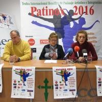 Badajoz acoge el festival de patinaje solidario Patinox 2016 a beneficio de la AECC