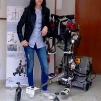 La extremeña que ayuda a los niños que no pueden andar