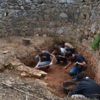 [REBELLAO] 120 alumnos del IES Campos de San Roque se convierten en peones arqueológicos en la finca El Rebellao