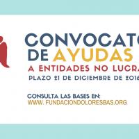 BASES DE LA II CONVOCATORIA DE AYUDAS A ENTIDADES NO LUCRATIVAS