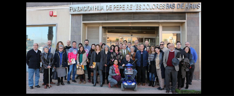 Jornada de entrega de ayudas a proyectos sociales en Badajoz