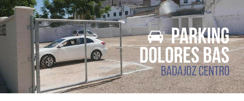 Aparcamiento en Badajoz Centro