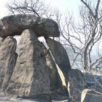 Consternados ante el incendio en El Rebellao