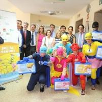 'Porción de Héroes' un programa de acompañamiento a niños con cáncer en el Hospital Materno de Badajoz