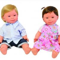 Muñecos con Síndrome de Down para sensibilizar a grandes y chicos
