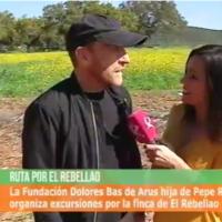 Visita escolar a El Rebellao del CEIP César Hurtado Delicado, de Valverde de Leganés