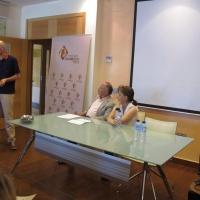 Acto de entrega de ayudas a organizaciones para realizar proyectos sociales en Badajoz