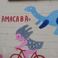 Amacaba y Segundo Asalto dan color al centro de Badajoz con el apoyo de la Fundación Dolores Bas