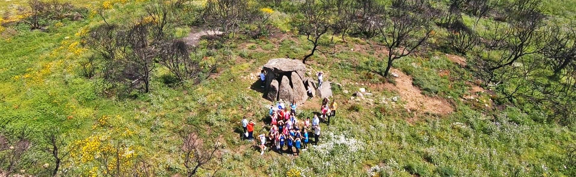 Actividades en el Espacio Arqueológico y Natural El Rebellao