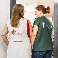 Impulsamos junto a AECC un proyecto de ayuda a domicilio gratuita para pacientes en paliativos en Badajoz
