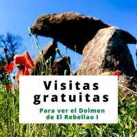 Visitas gratuitas al dolmen de El Rebellao los domingos de julio