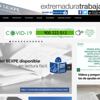 La web ExtremaduraTrabaja adaptada a Lectura Fácil ya es accesible
