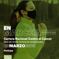 La Carrera Nacional de Asociación Española Contra el Cáncer tendrá lugar el 28 de marzo