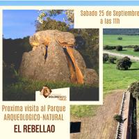 Sábado 25 de septiembre ruta en el Parque Arqueológico Natural El Rebellao